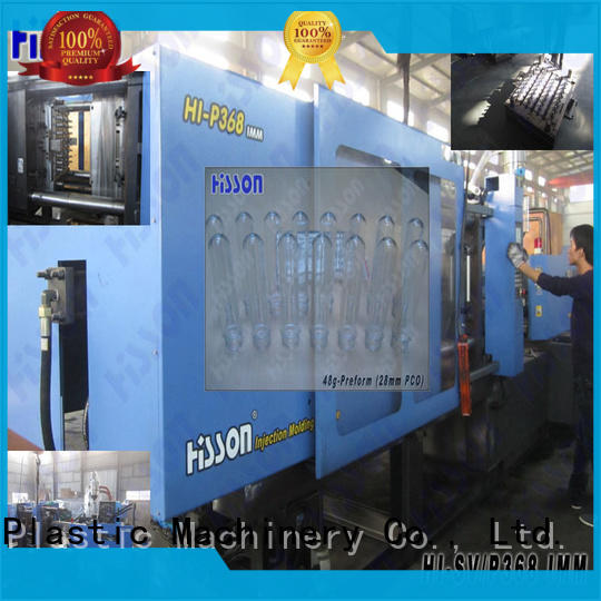 Hisson automatic pet injection moulding machine price wide for bottle