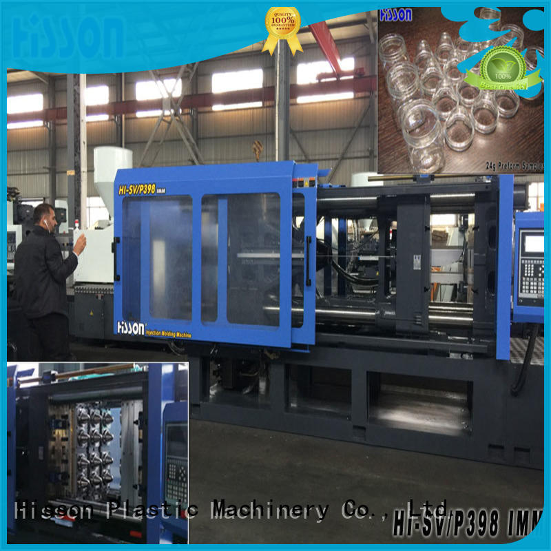 Hisson pet injection moulding machine supplier factory
