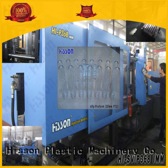 Hisson plastic injection machine wide for bottle