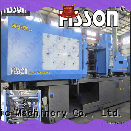 Hisson servo injection molding machine factory car