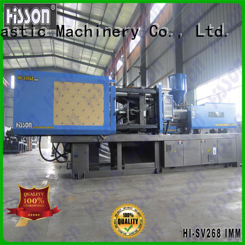 Hisson injection molding machine factory car