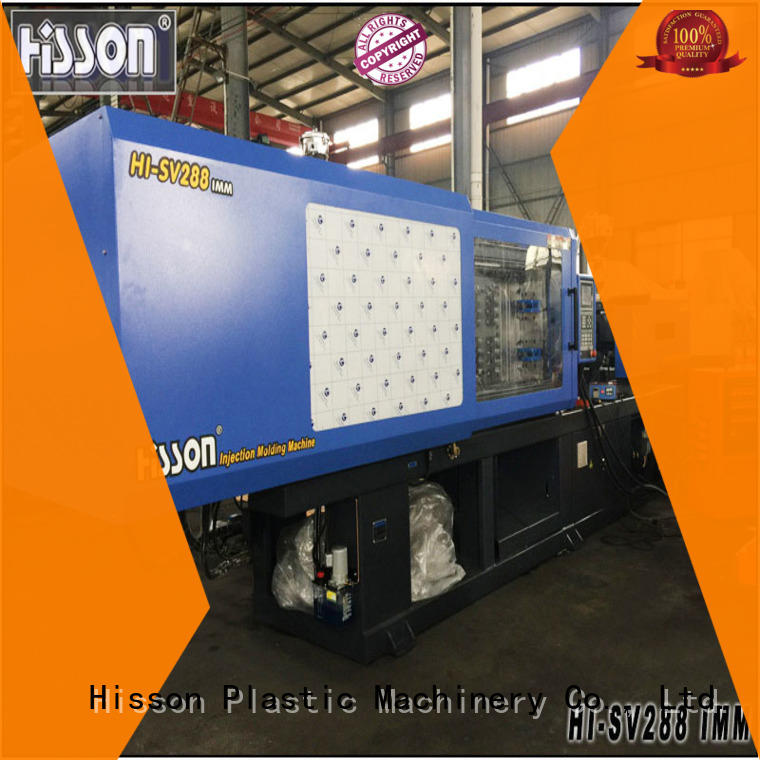Hisson industrial high speed injection moulding machine factory car