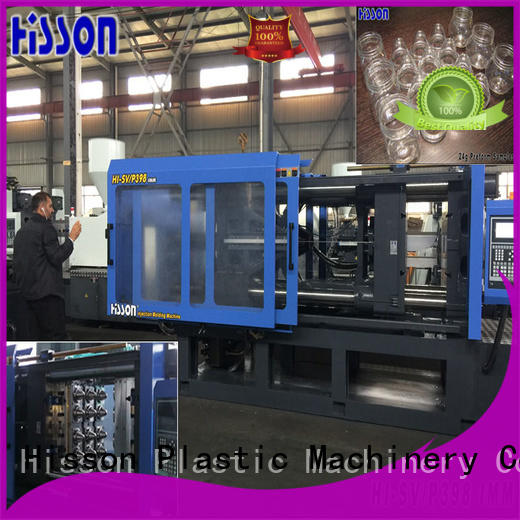 Hisson automatic plastic machine injection supplier factory