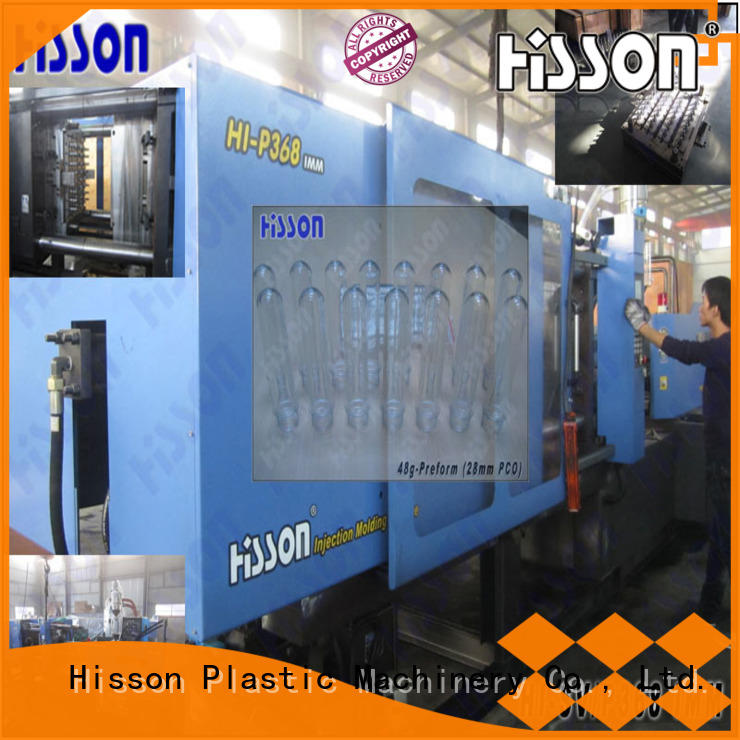 pvc preform molding machine mouth in industrial