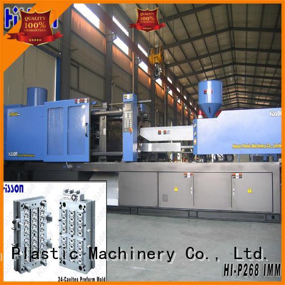 Hisson bottle plastic injection molding machine sale wide factory