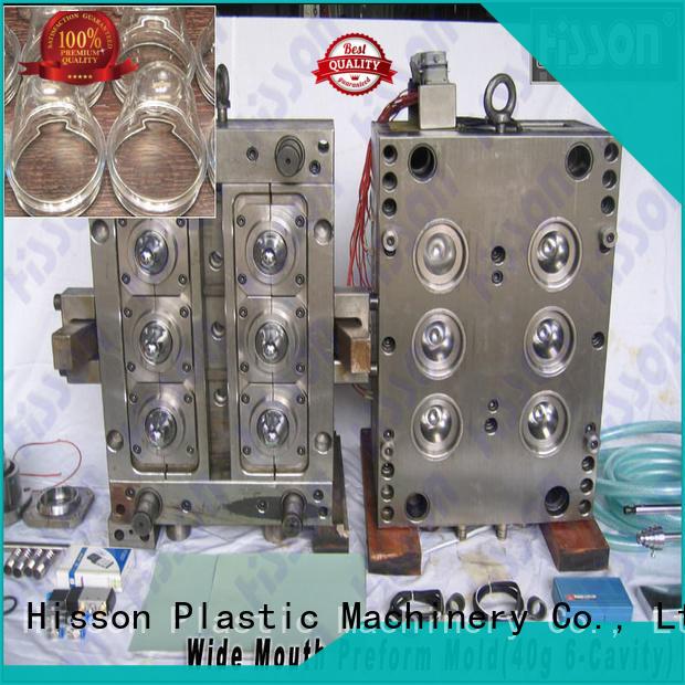 Hisson valve pet preform mold company for bottle