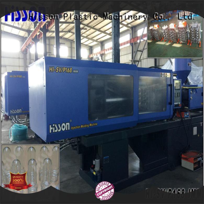 Hisson automatic pet preform molding machine supplier factory