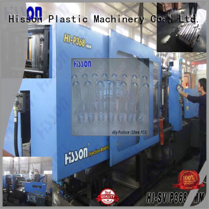 Hisson plastic machine injection jar for bottle