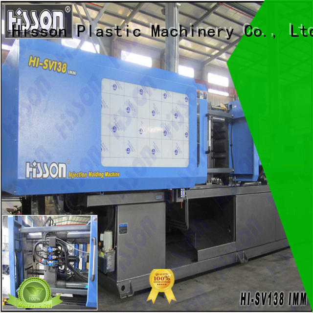 Hisson pvc new injection moulding machine factory bumper