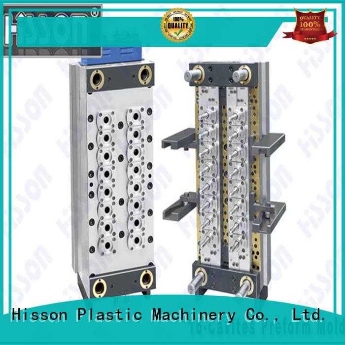 Hisson gate pet preform mold supplier for bottle