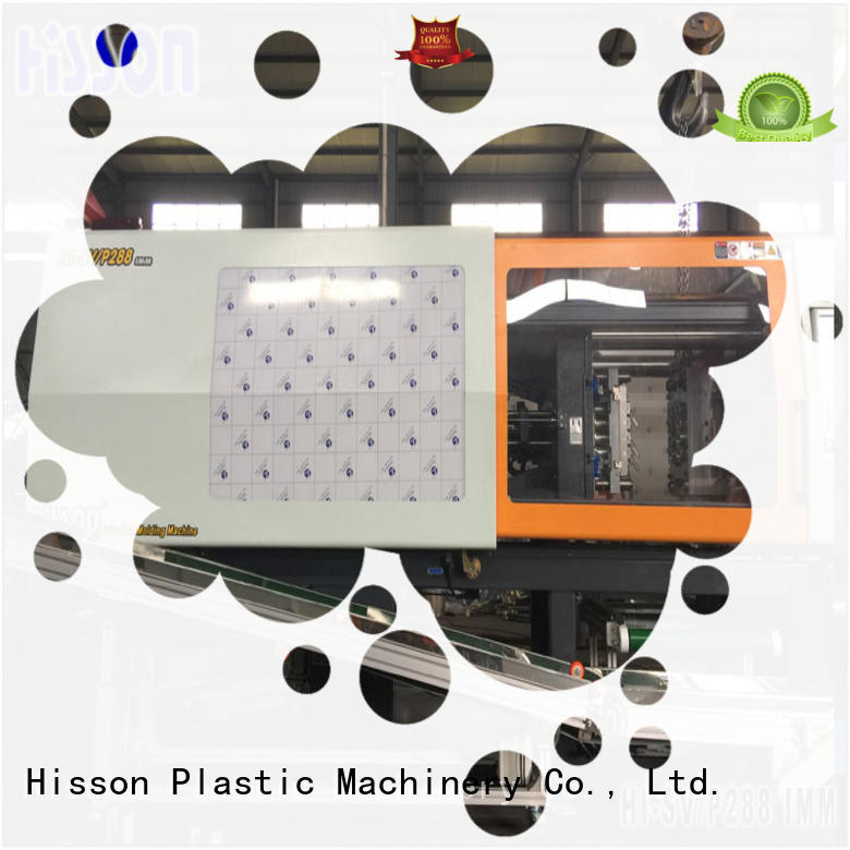 Hisson bottle horizontal plastic injection moulding machine wholesale for bottle