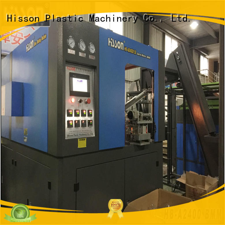 stretch blow molding machine for plastic bottles suppliers in industrial Hisson