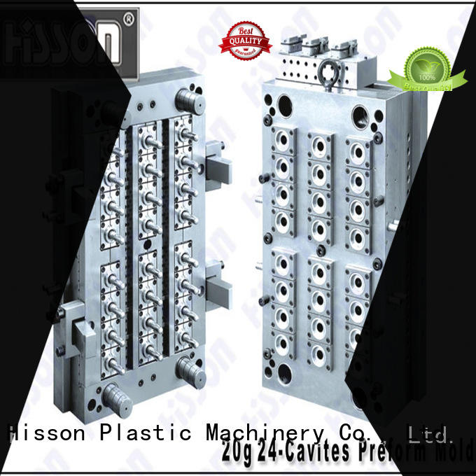 Hisson preform mould design in industrial