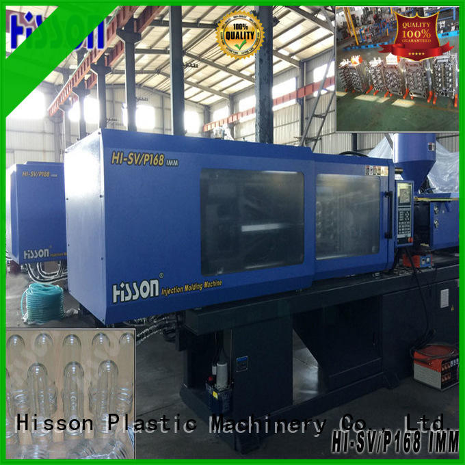 Hisson best plastic injection molding machines jar in industrial