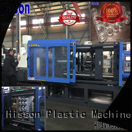 Hisson plastic injection molding machine china jar for bottle