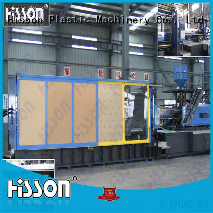 Hisson plastic injection moulding machine manufacturers factory bumper