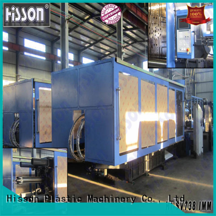 Hisson plastic servo injection molding machine customization car