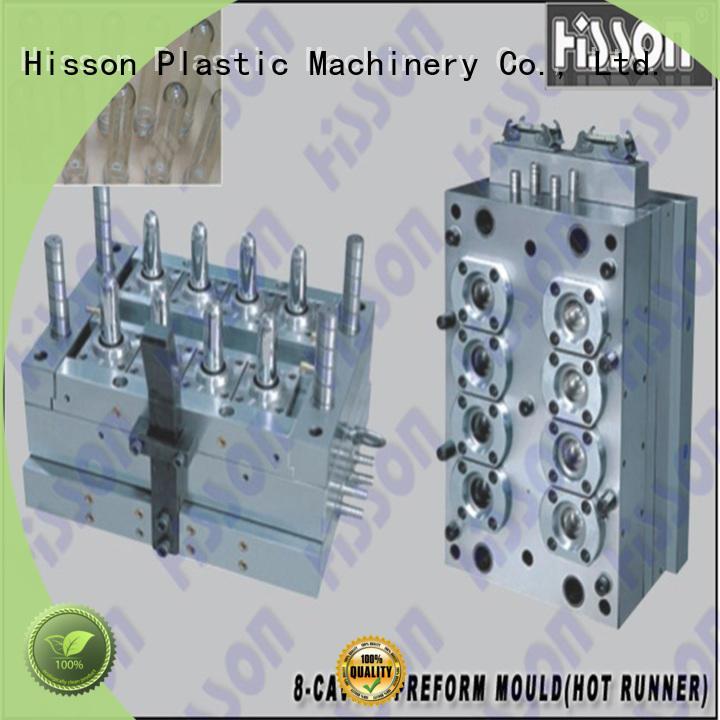 Hisson mouth preform mould design manufacturers for bottle