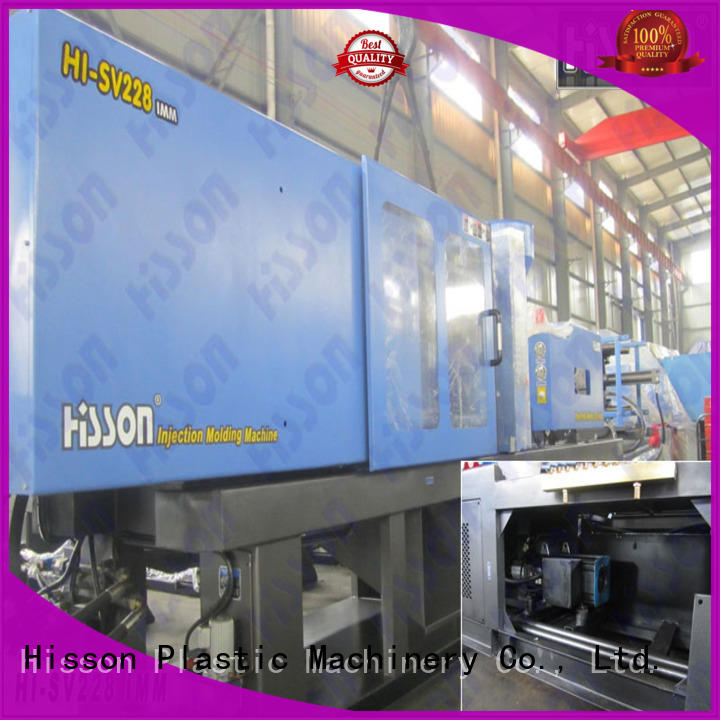 Hisson pe automatic injection moulding machine price bumper