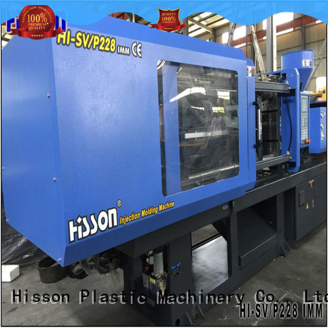 Hisson water best plastic injection molding machines jar factory