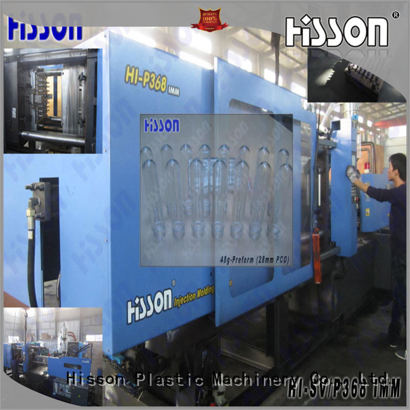 pvc horizontal plastic injection moulding machine mouth for bottle
