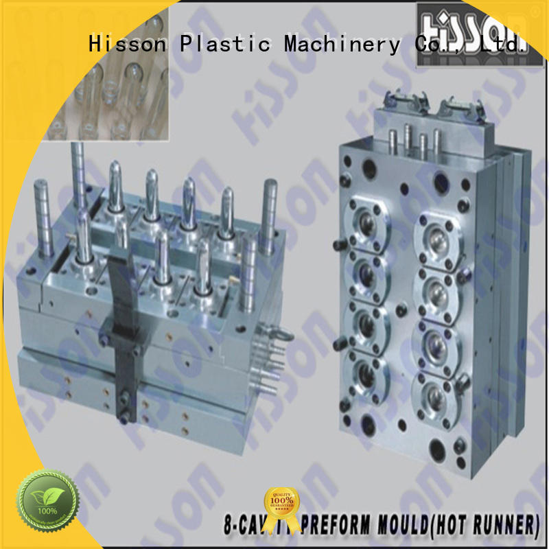 Hisson multi cavities PET preform mold supplier factory