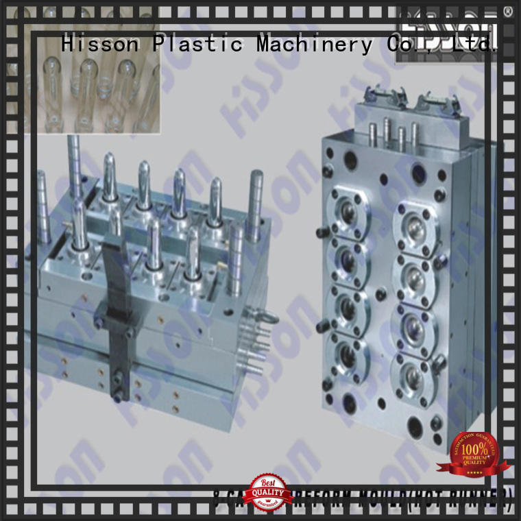 Hisson multi cavities PET preform mold manufacturers for bottle