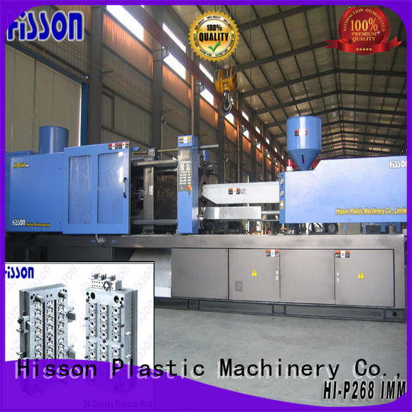 Hisson plastic injection molding machine sale wide factory