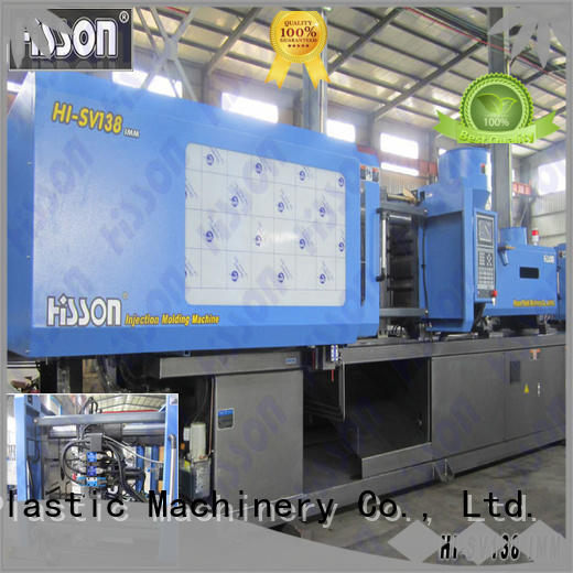 Hisson plastic injection moulding machine manufacturers factory bumper
