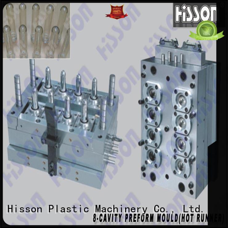 Hisson mouth pet preform mold manufacturers factory