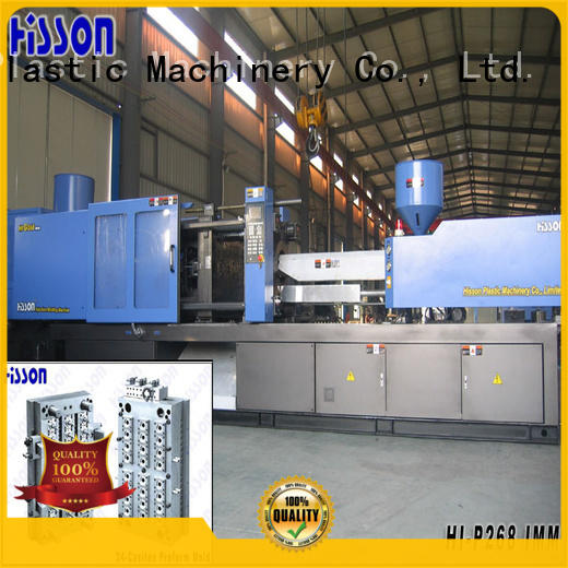 Hisson plastic injection molding machine brands mouth in industrial
