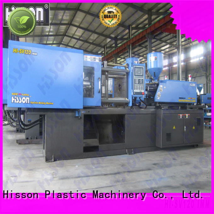 Hisson industrial pvc injection moulding machine factory car