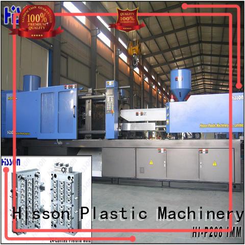 Hisson plastic pet preform injection molding machine price in industrial