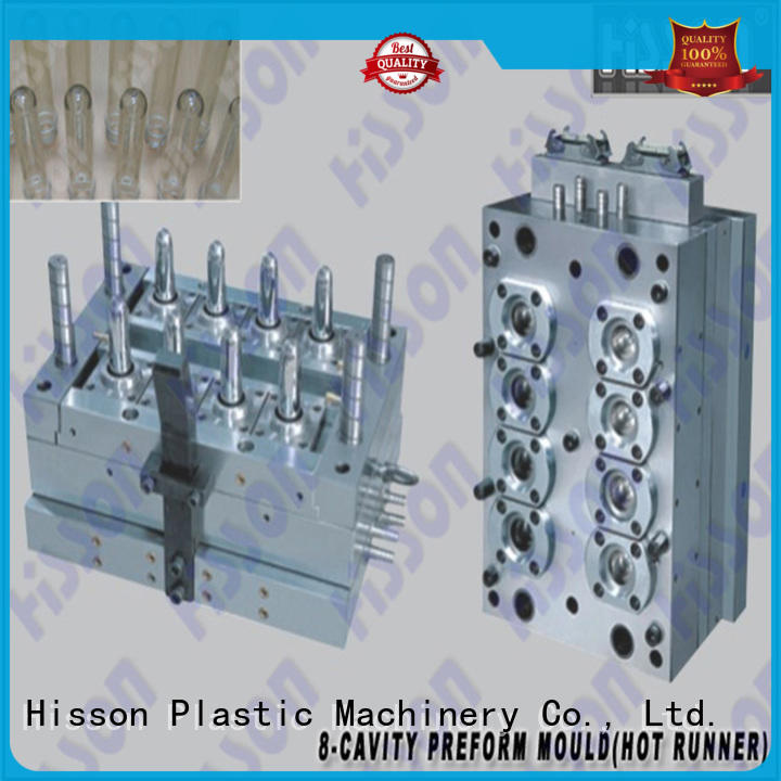 Hisson pet preform injection mold manufacturers in industrial