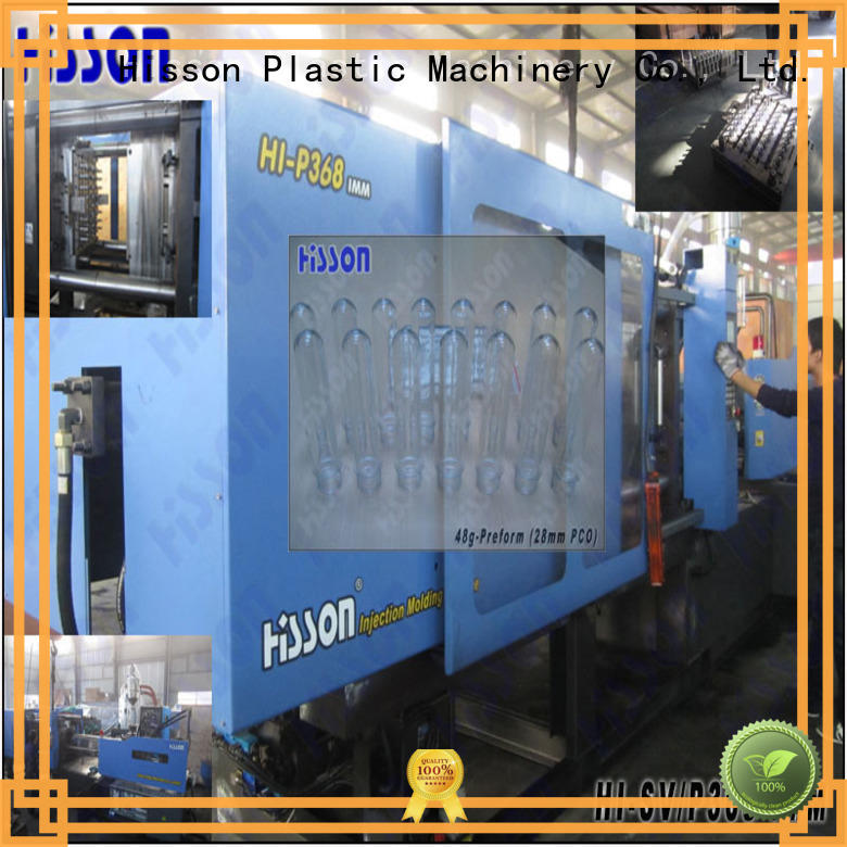 Hisson china injection molding machine wide factory