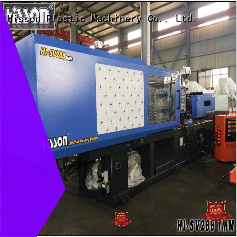 Hisson motor electric injection molding machine factory car