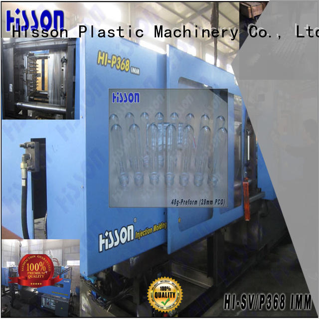 Hisson plastic injection molding machine for sale jar for bottle