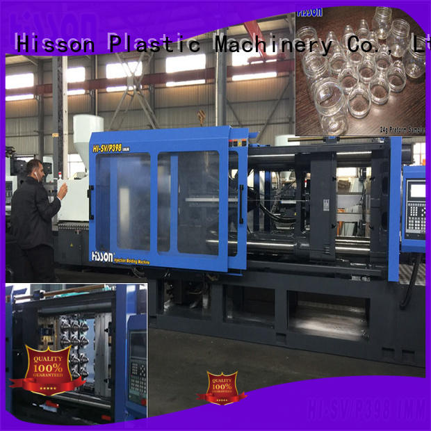 Hisson injection machine jar in industrial