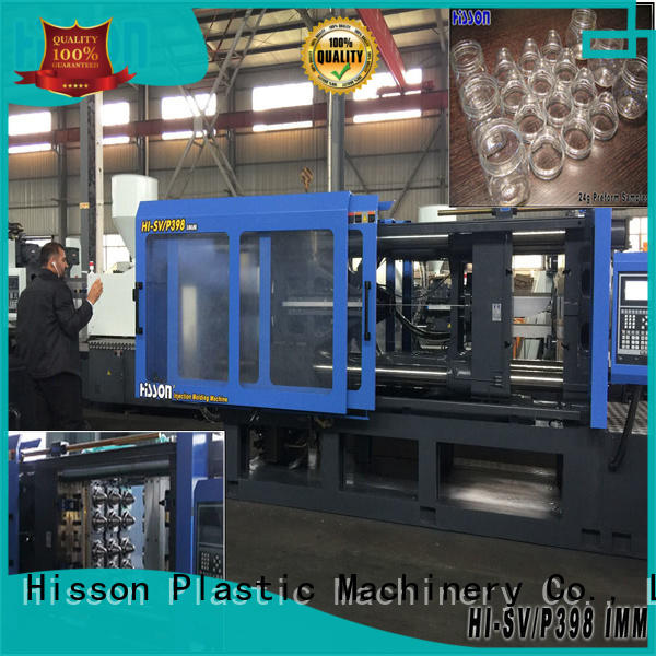 Hisson plastic horizontal injection moulding machine jar factory